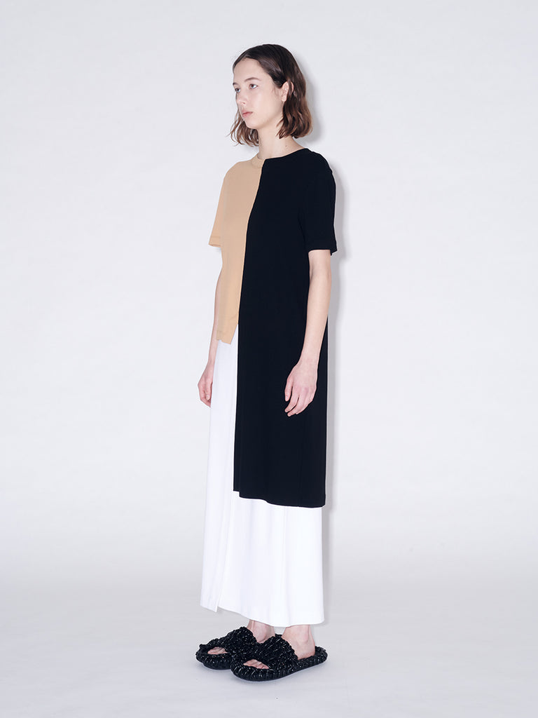 Asymmetric Split T-Shirt
