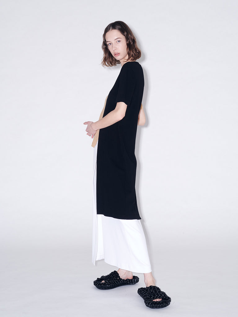 Pull On Wrap Front Skirt