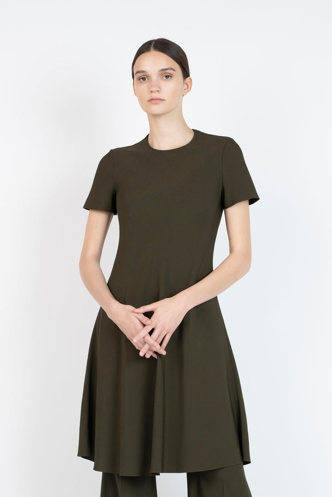 BIAS T-SHIRT DRESS