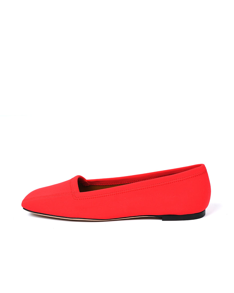 SQUARE TOE LOAFER