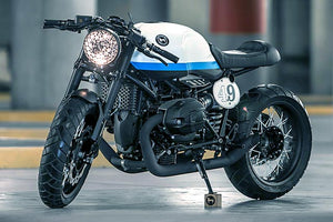 MASS Moto BMW R9T Hot Rod 2-into-2 Exhaust System