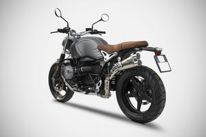 ZARD BMW R9T Limited High Scrambler Exhaust