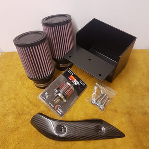 Pier City Custom BMW R9T Air Box Removal Kit with Carbon Cover - Pier City Custom BMW R9T