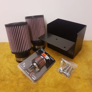 Pier City Custom BMW R9T Air Box Removal Kit without Carbon Cover - Pier City Custom BMW R9T