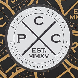 Pier City Cycles Sticker Pack - Pier City Custom BMW R9T