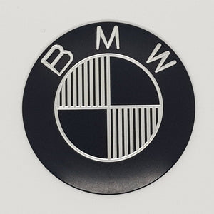 Ex-Motorcycle BMW Tank Badge - Icon Black