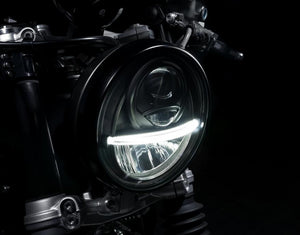 AC Schnitzer BMW R9T Light Bomb LED Headlight - Pier City Custom BMW R9T