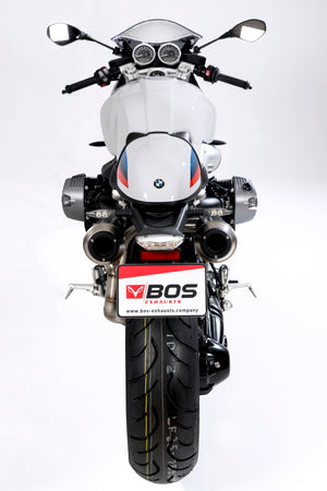 BOS BMW R9T Double Underseat Exhaust
