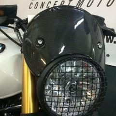 LuisMoto BMW R9T Carbon Headlight Cover Windshield