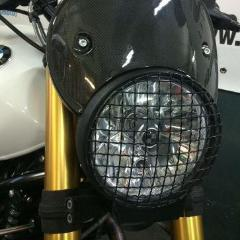 LuisMoto BMW R9T Headlight Cover Grill - Pier City Custom BMW R9T