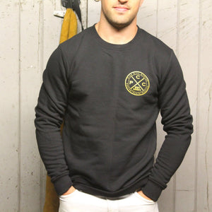 Pier City Cycles Original Sweatshirt - Black/Gold