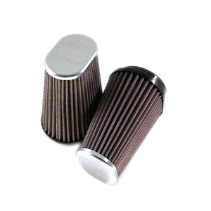 DNA Filters BMW R9T Air Filter Set - Aluminium Polished Top (Pair) - Pier City Custom BMW R9T