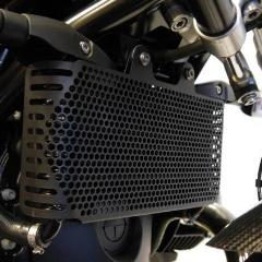 Evotech Performance BMW R9T Oil Cooler Protection Cover Black