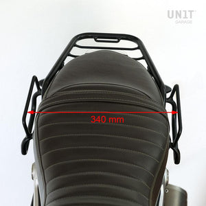 Unit Garage BMW R9T One Canvas Pannier & Double Symmetrical Luggage Rack