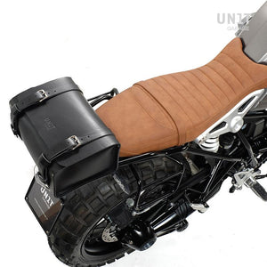 Unit Garage BMW R9T Leather Rear Luggage Bag