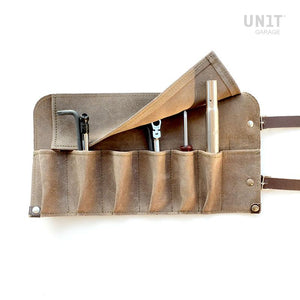 Unit Garage BMW R9T Tool Roll - Suede