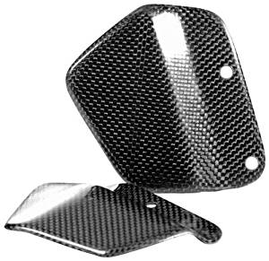 Gilles Tooling BMW R9T Carbon Heel Guards - Pier City Custom BMW R9T