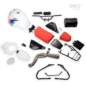 Unit Garage BMW R9T Paris Dakar PD Kit With Accessories