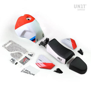 Unit Garage BMW R9T Paris Dakar GR86 Kit