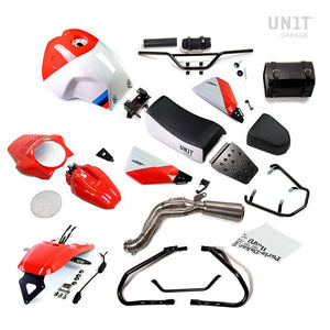 Unit Garage BMW R9T Paris Dakar GR86 Kit With Accessories