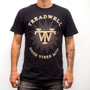 Treadwell Logo T-Shirt - Black