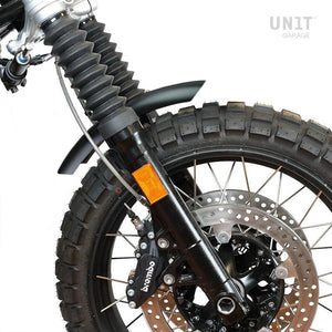 Unit Garage BMW R9T Low Level Aluminium Mudguard Black