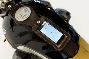 Unit Garage BMW R9T Leather Phone Case - Brown