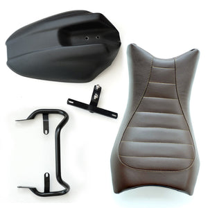 Unit Garage BMW R9T Monoposto Seat Unit And Tail Tidy Brown Leather
