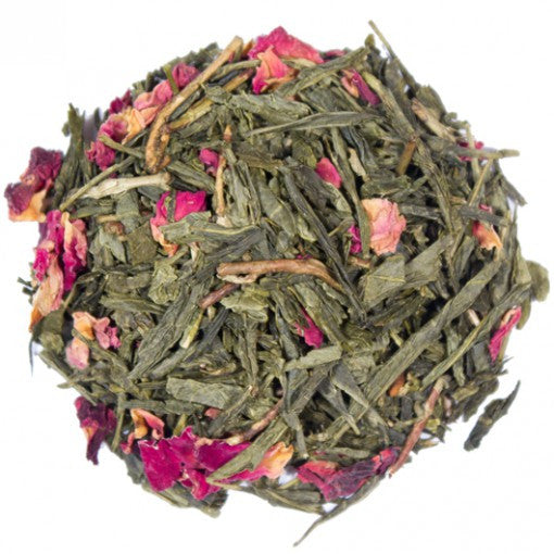 tea blend in cherry bloom