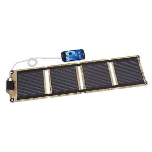 Kickr IV, Portable Solar Charger, 6.0 Watts Output, Camo