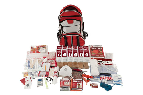 1 Person Guardian Elite 72 Hour Survival Kit (Red or Camo)