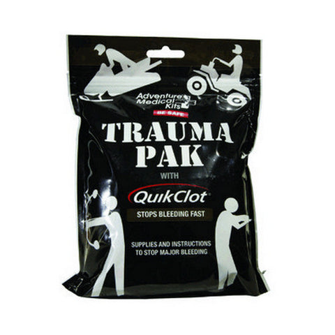 Trauma Pak with QuikClot by Adventure Medical