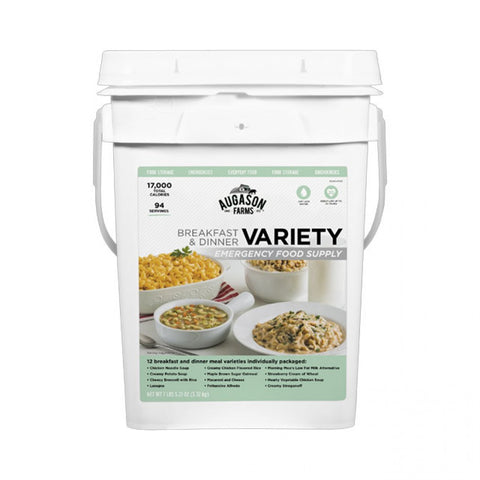 Emergency Food Supply Variety Pail