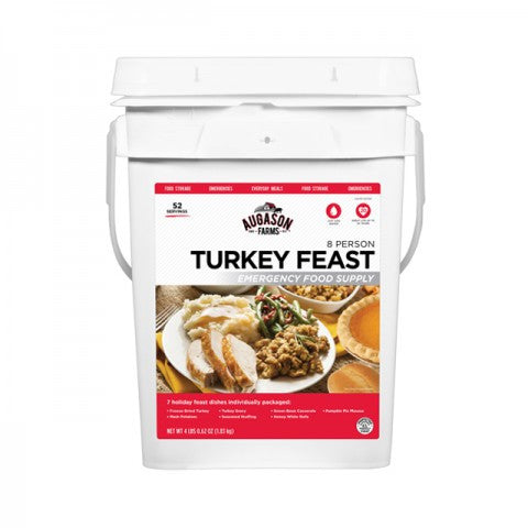 Emergency Food Supply Turkey Feast Pail