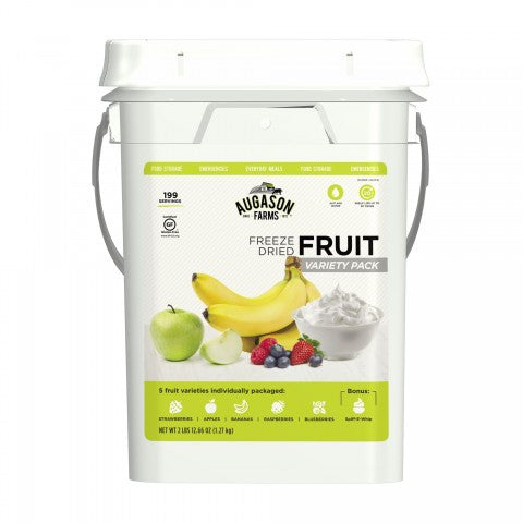 Freeze Dried Fruit Variety Pail