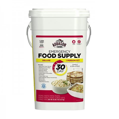 Deluxe Emergency 30-Day Food Supply