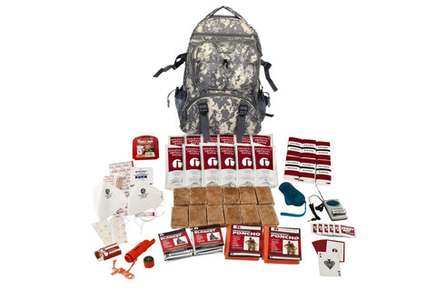 2 Person Guardian 72 Hour Survival Kit (Red or Camo)