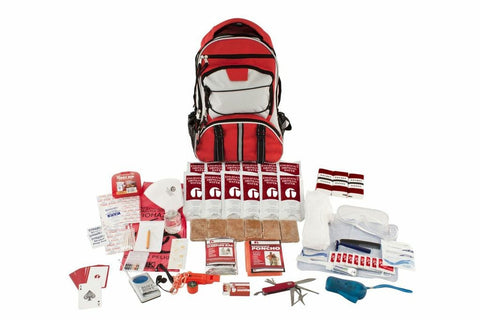 1 Person Guardian Deluxe 72 Hour Survival Kit (Red or Camo)