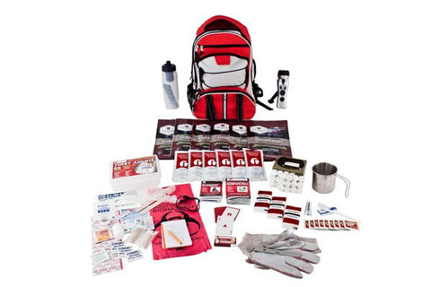 Guardian 1 Person Food Storage 14 Day Survival Kit (Red or Camo)