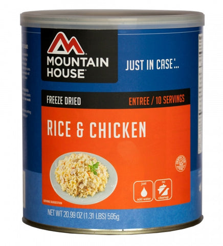Rice & Chicken by Mountain House