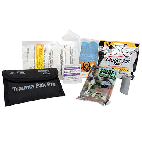 Trauma Pak Pro with Quickclot and Tourniquet by Adventure Medical