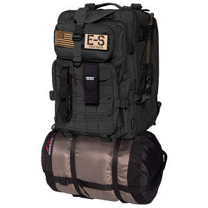 Emergency Bug Out Bag, Black