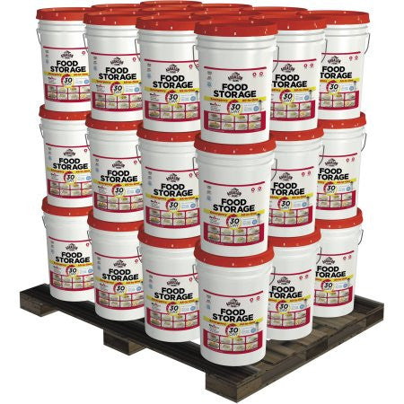 1-Year 3-Person Emergency Food Storage Pails Kit