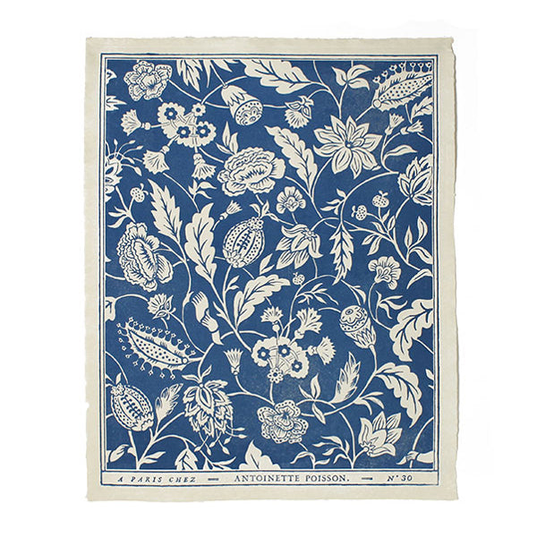 Papier Dominoté Indian 30B Blue