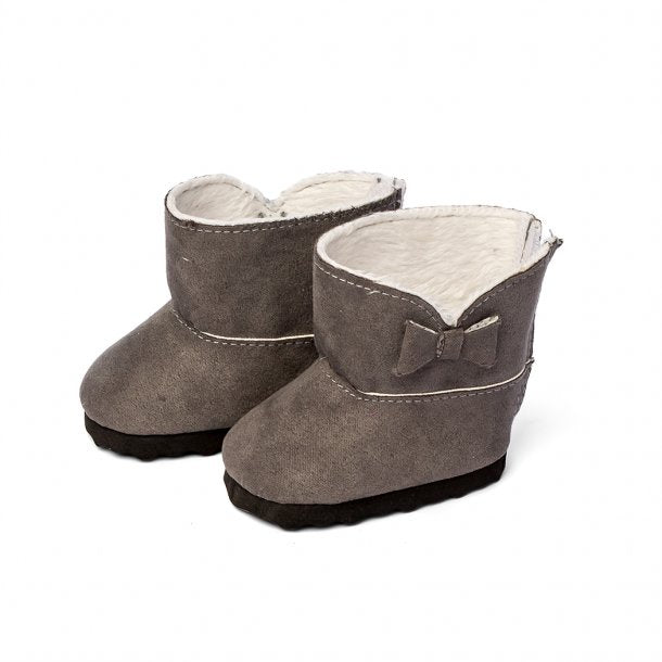 Doll Winter Boots - Grey