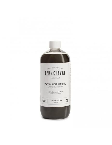 Liquid Black Soap Fer à Cheval - Olive Oil 500ml