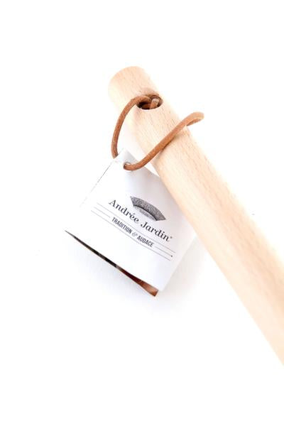 Broom Stick Beech Wood Handle with Leather Loop
