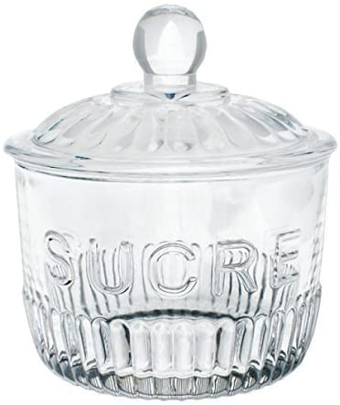 Sugar Glass Jar- Sucre
