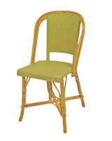 Woven Rattan Fouquet Bistro Chair Mint
