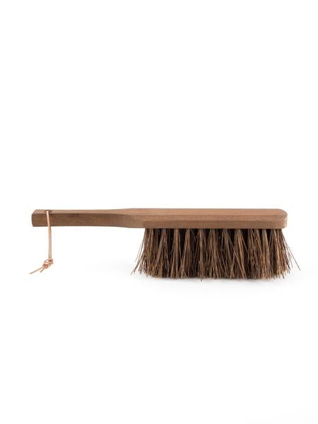Heritage Ash Wood Outdoor Hand Brush with Coconut Fibers